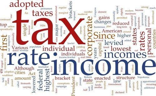 תמונה שכתוב עליה מיסים והחזרי מס
